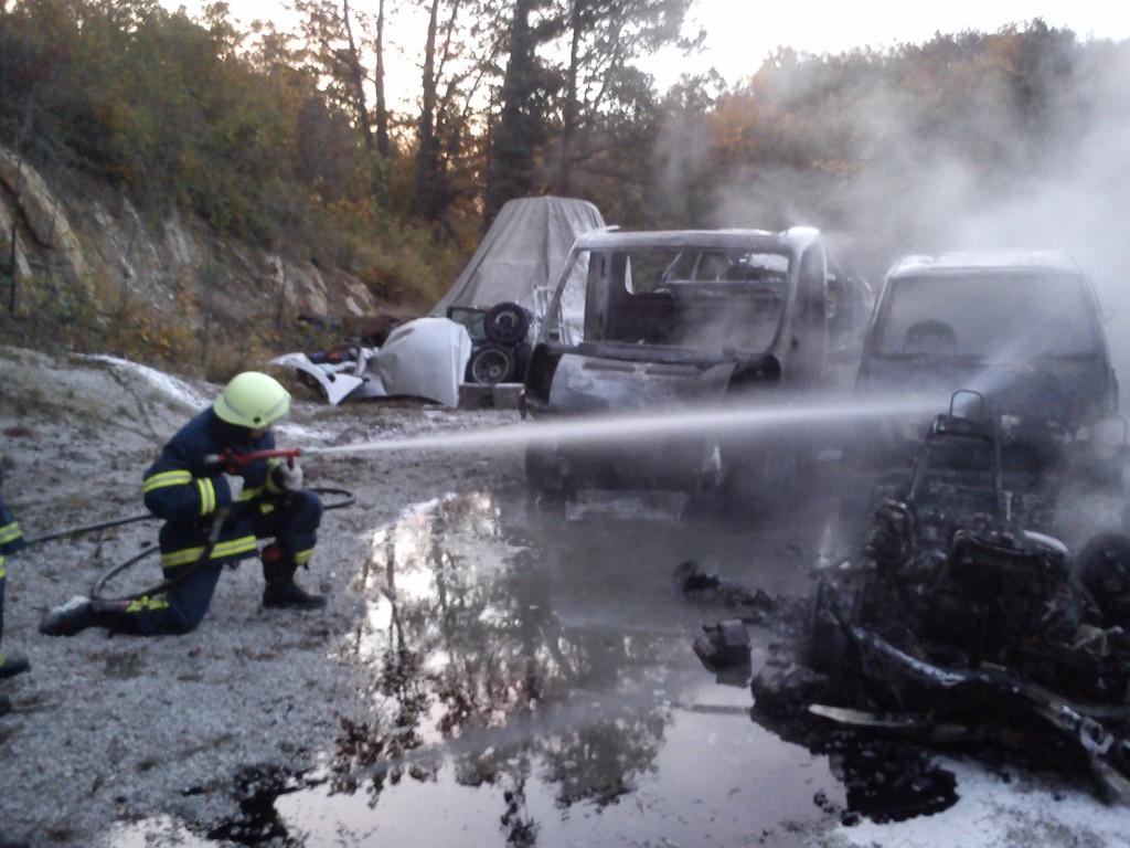 Intervencija  oravška gora 2013